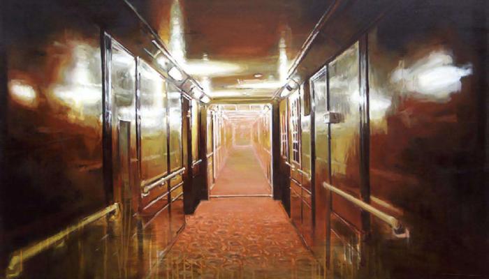 Anja Ganster: Schiffskorridor, 2008 (c) Anja Ganster