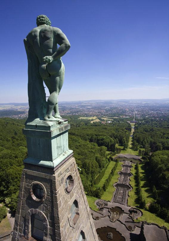 Herkules - Bergpark Wilhelmshöhe, Kassel. Foto: MHK